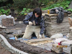 石板加工(半割り)